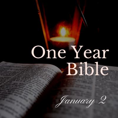 One Year Bible: January 2