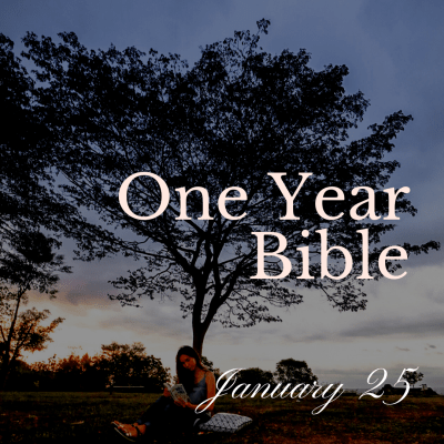 One Year Bible: January 25