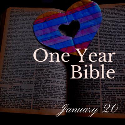 One Year Bible: January 20