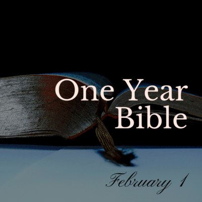 One Year Bible: February 1