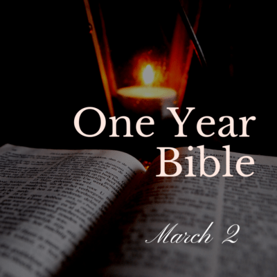 One Year Bible: March 2