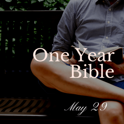 One Year Bible: May 29