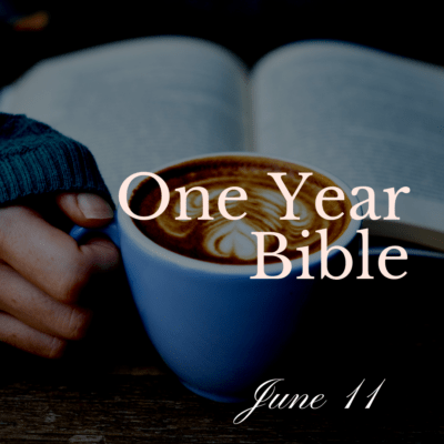 One Year Bible: June 11