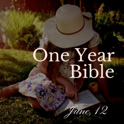 One Year Bible: June 12