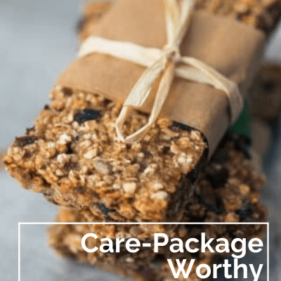 Care-Package Worthy Granola Bars