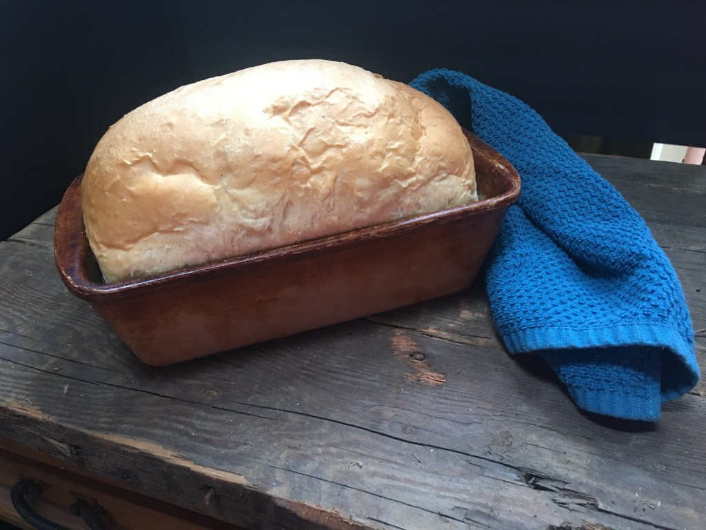 A loaf of bread you can make with or without a bread machine
