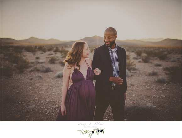 couples, maternity session, desert, sand, sun set, beautiful landscape