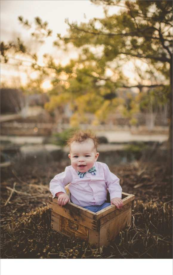 baskets, buckets, blankets, laughing baby, 6 month old photography session