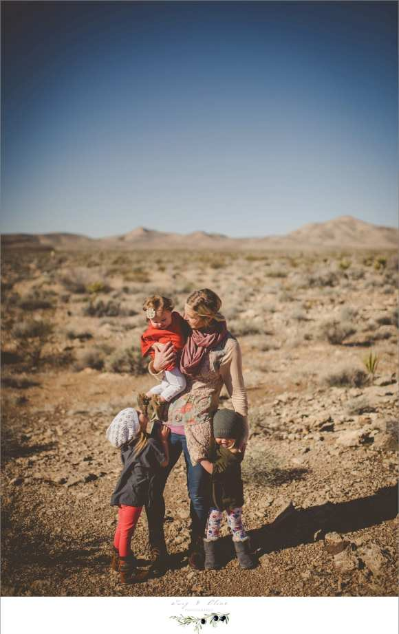 mother and daughters, family sessions, desert, Sun Prairie Photographers
