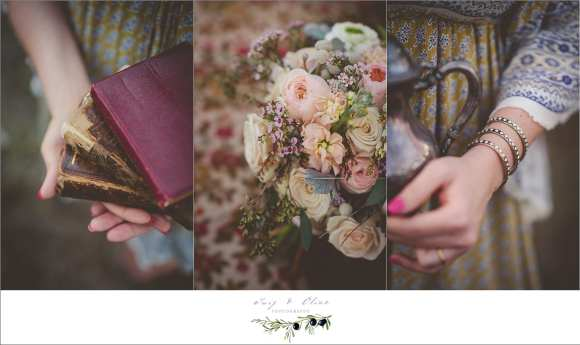 muted colors wedding