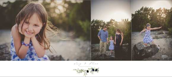 Austin, Texas outdoor family session