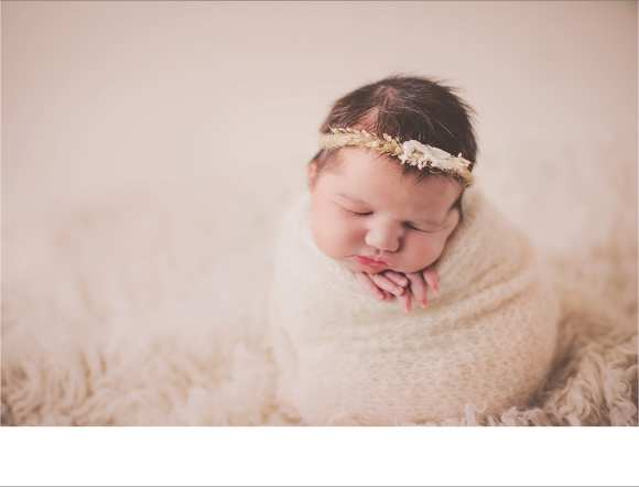 hair flowers, angelic, cloth, newborns Dane County indoor session