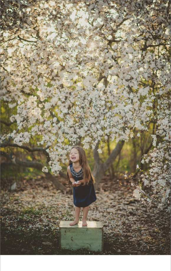 trees, blossoms, Olbrich gardens, cute kids