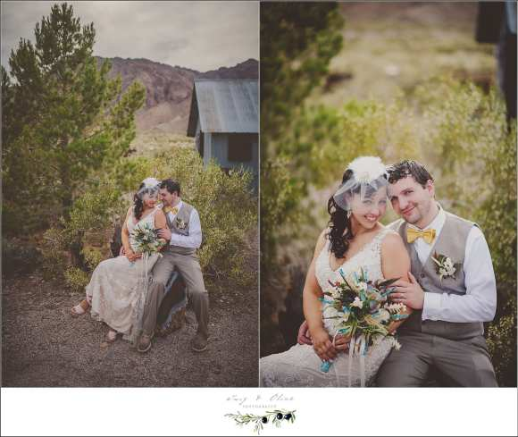 Las Vegas Nevada Desert Wedding