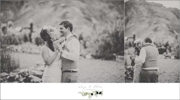 Desert Wedding in Nelson NV