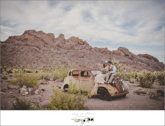 Desert Wedding Nelson NV