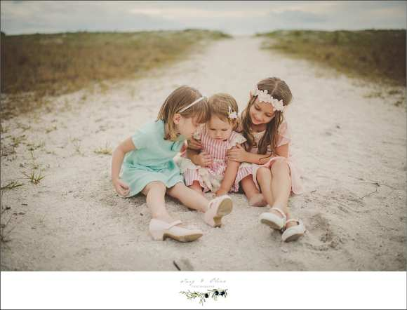 sand, sun, surf, sisters, happy sisters, cute kids, shoes, vintage dress, vintage sessions, Clearwater Beach Florida