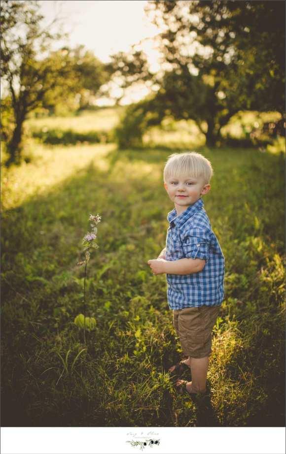 little boy checkered shirt