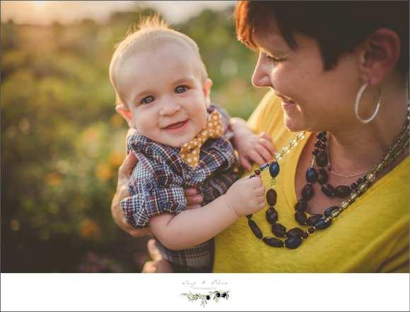 yellow shirt, sunset,  baby boy