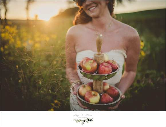 apples, fall wedding
