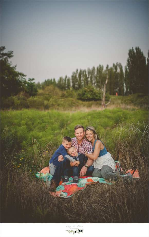blankets, forests, family photos