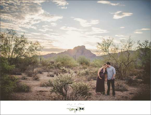 arizona maternity sessions