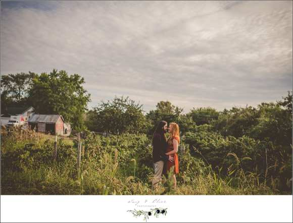 fall engagement session wi
