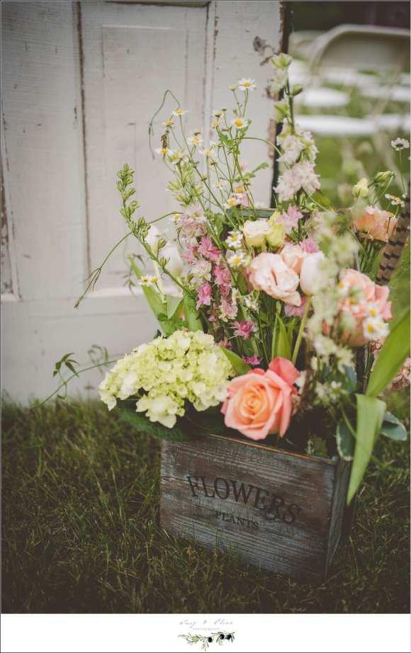 wild flowers wedding details