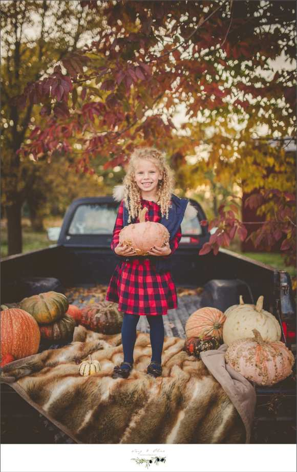 flannel and pumpkins
