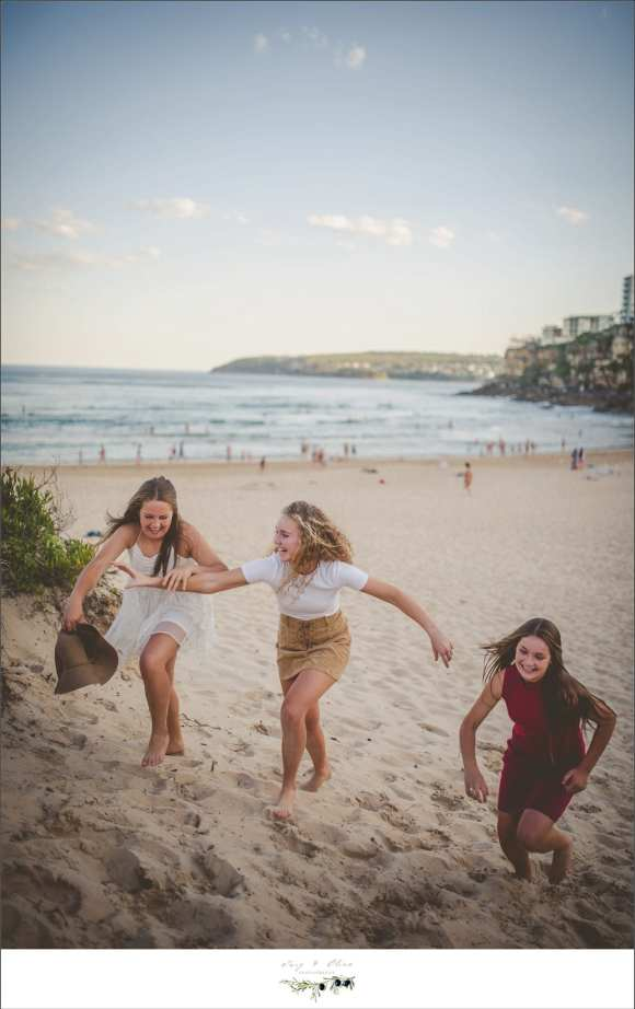 beach fun run in dresses