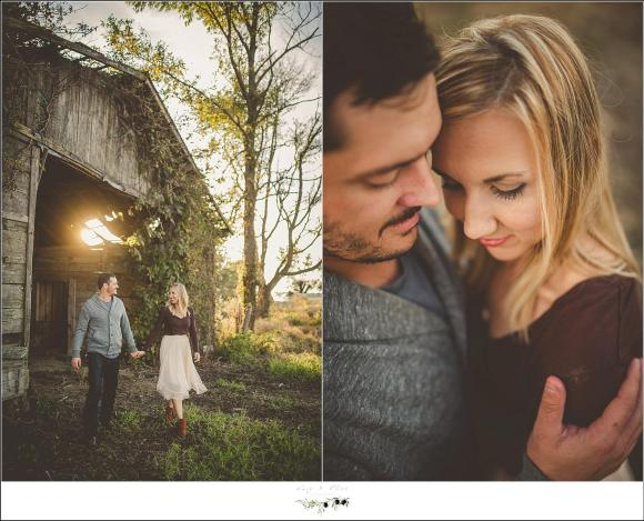 outdoor engagement session mississippi