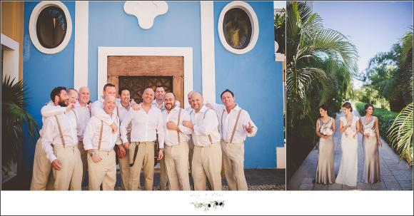 xcaret park mexico wedding