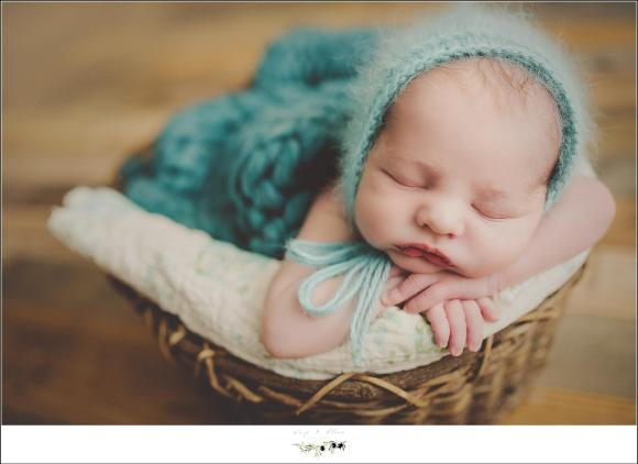 boy newborn session