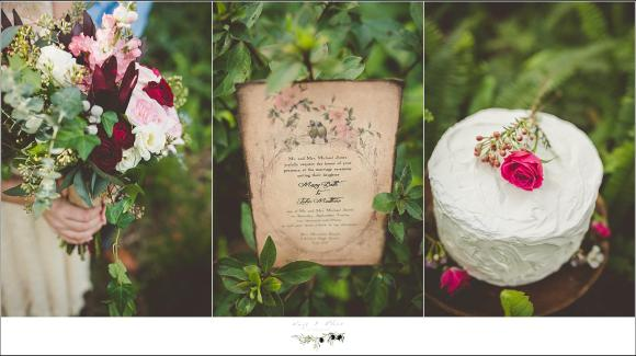 wedding invitation rustic