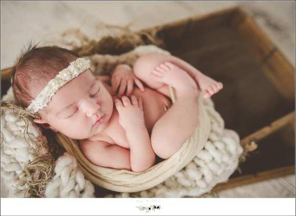 baby in bucket