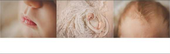 pink swaddled and detail shots