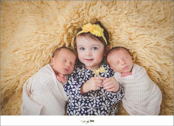 twins and sister