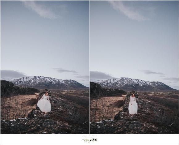 wedding portraits in iceland