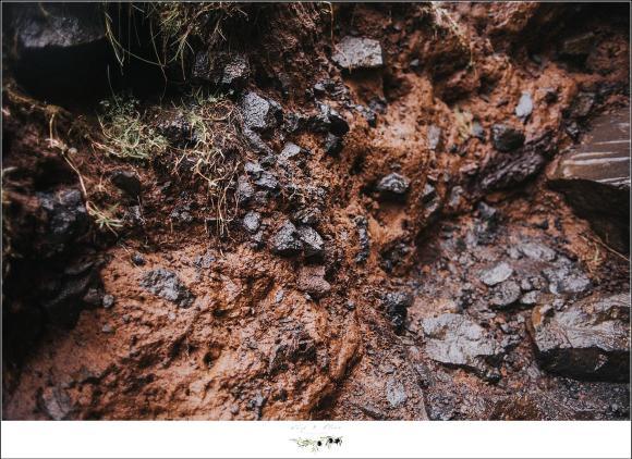 rocky terrain in iceland