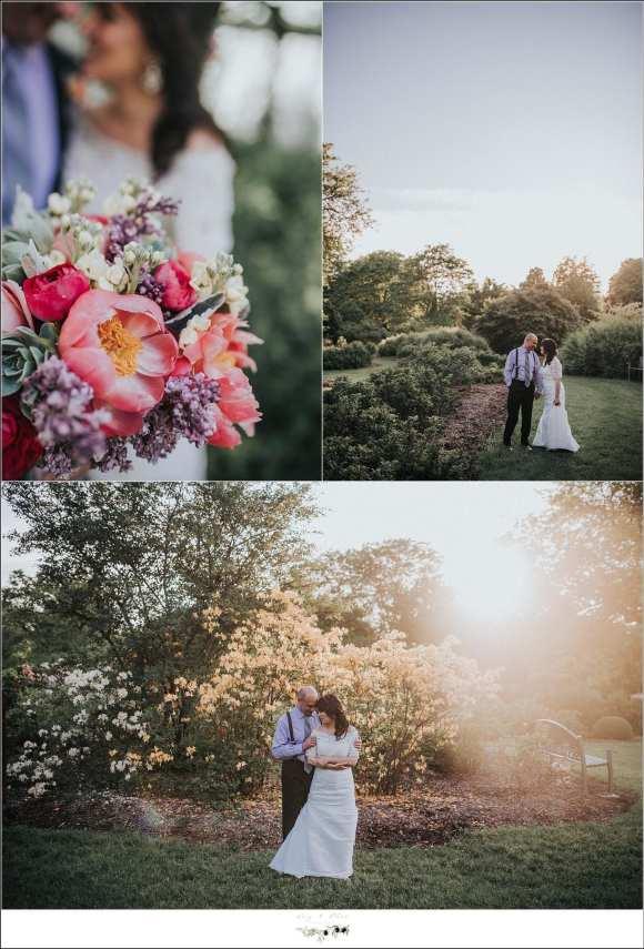 sunset wedding images