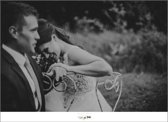 black and white wedding image