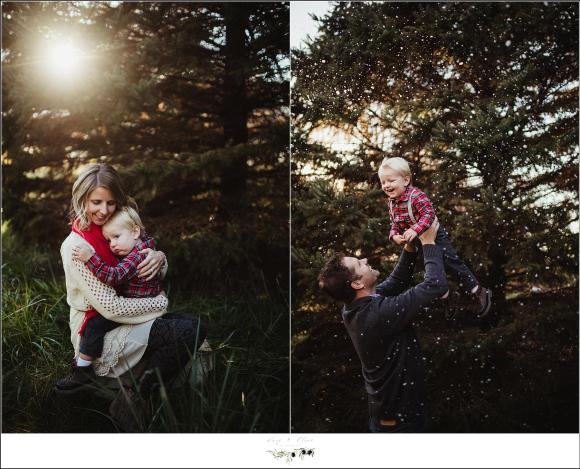 Madison Wisconsin Winter Family Photography Session