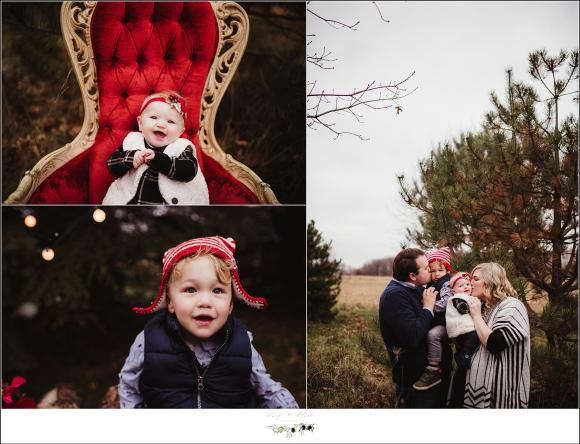 Winter Family Photography Session Madison Wisconsin