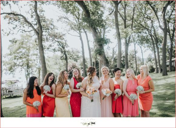 j.crew bridesmaid dresses in shades of pink