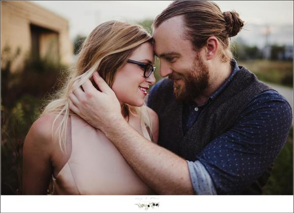 Outdoor engagement session WI