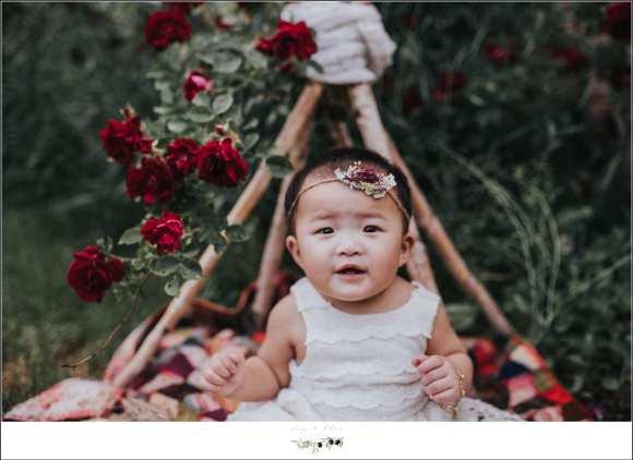 Baby Girl Outdoor Tee Pee