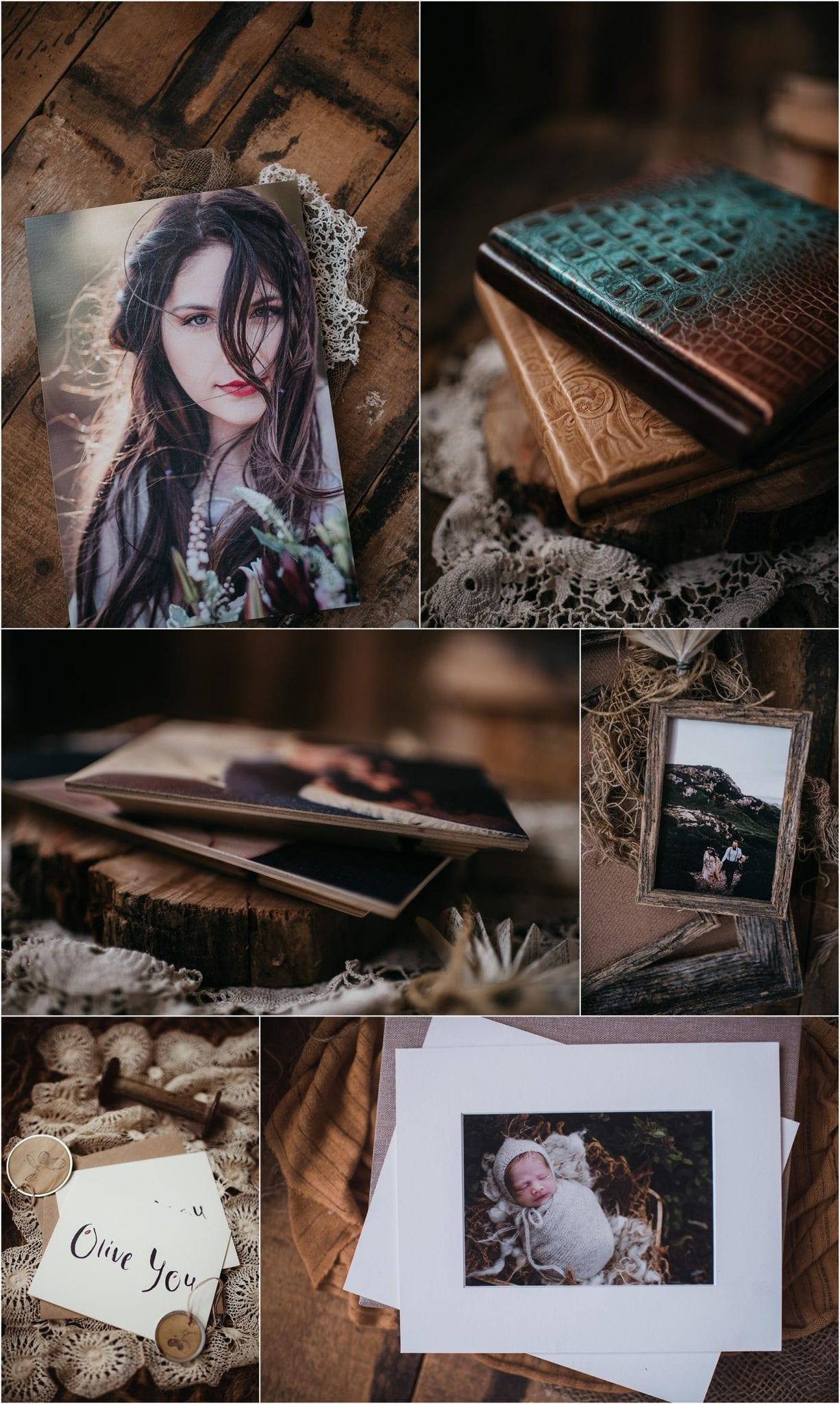 heirloom wedding albums