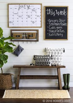 Planning a Home Command Center with 10 Great Examples