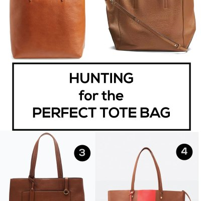 Hunting for the Perfect Tote for Spring and Summer