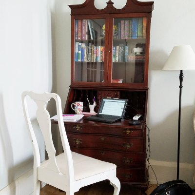 Antique Secretary for the Family Room